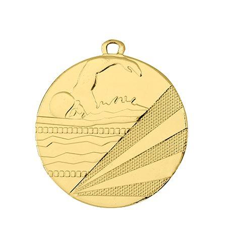 50mm svømme medalje