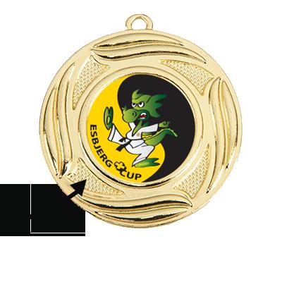 Medaljer med eget emblem