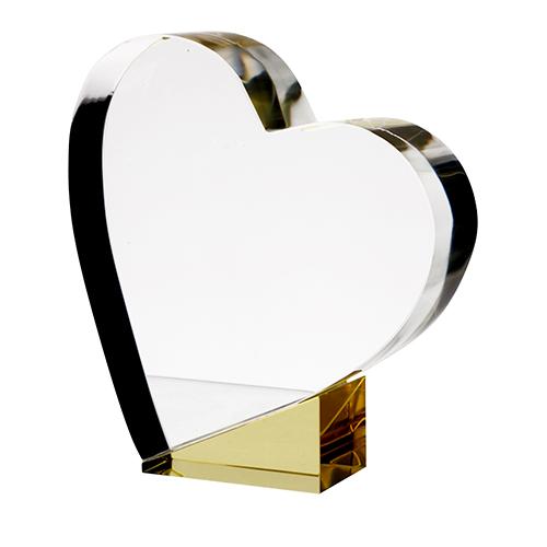 Glas hjerte - C055