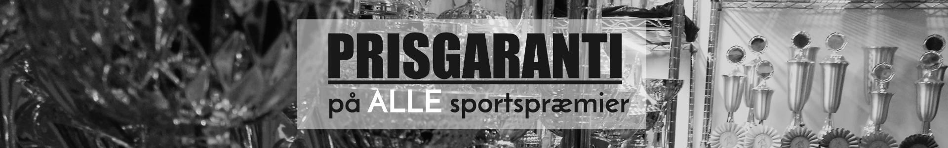 Prisgaranti på alle sportspræmier