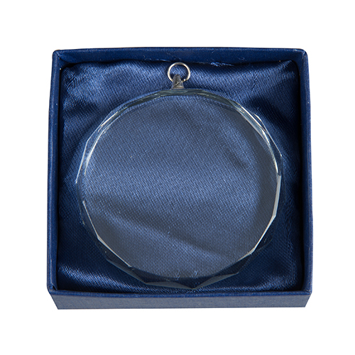 Glas medalje 60mm DG6001 gaveaeske