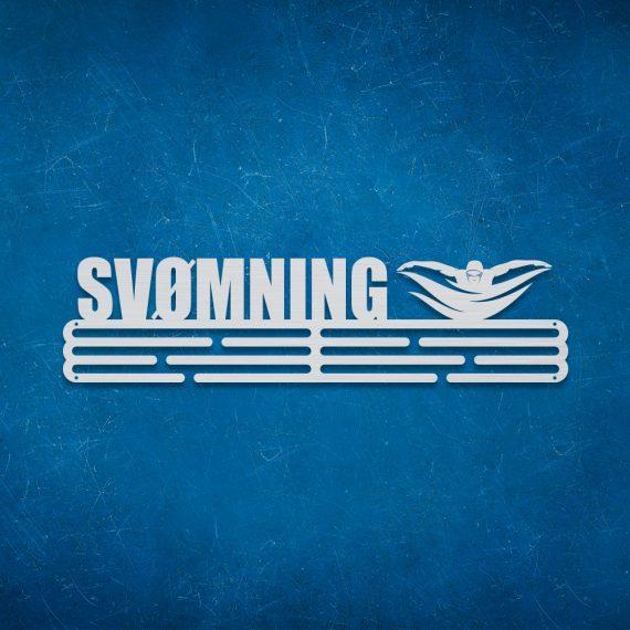 Medalje ophæng med svømmer