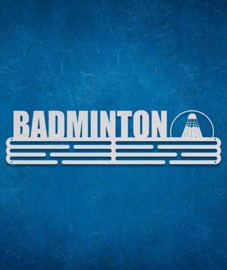 Medalje ophæng med badminton