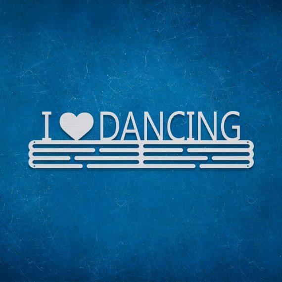 Medalje ophæng - I love Dancing