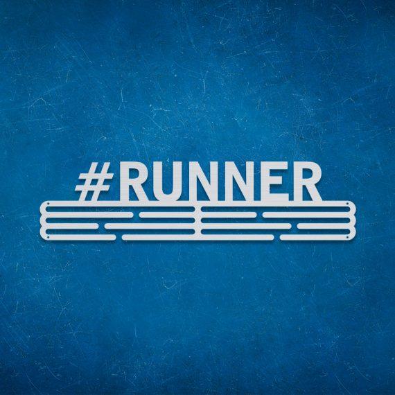 Medalje ophæng med #Runner