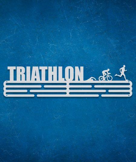 Medalje ophæng med triathlon