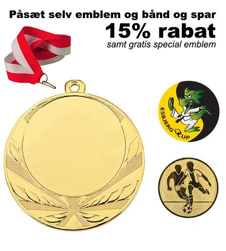 Medaljepakke fra C.Centrum