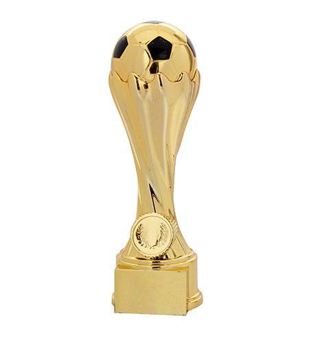 Flot fodboldpokal i guld