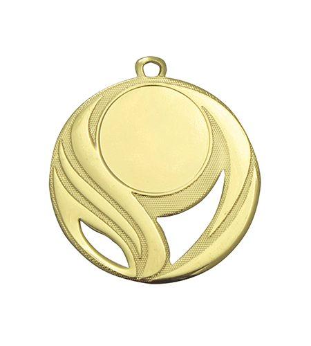 500mm guld medalje til sportsmotiv