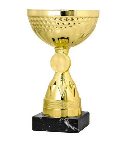 Billig guld pokal (9011) | Pokalen fås i 3 forskellige størrelser