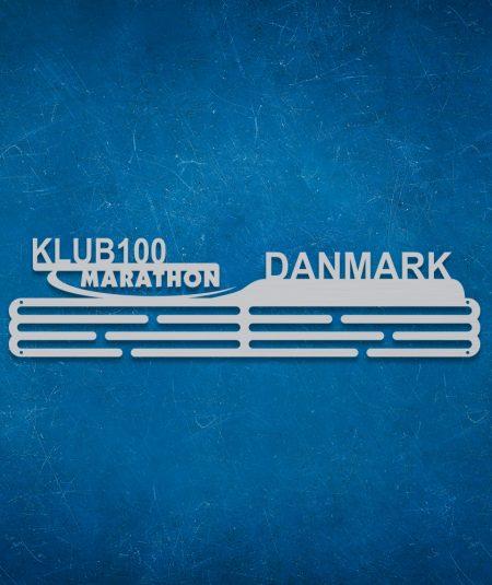 Klub 100 marathon medalje ophæng