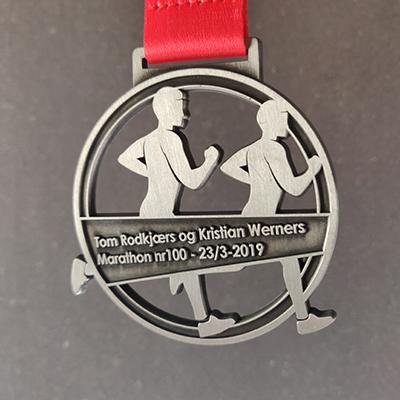Tom og Kristians Marathon nr. 100