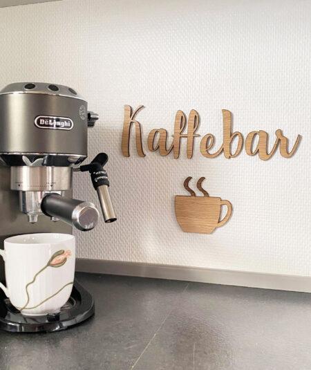 Kaffebar vægdekoration