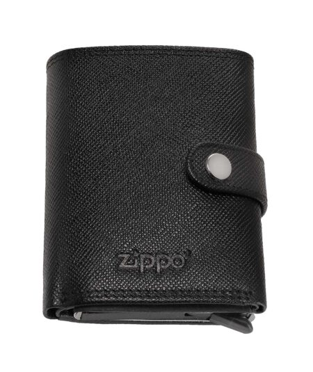 Zippo pung i ægte læder med kortholder